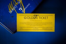 Winter Shopping Day Golden Ticket